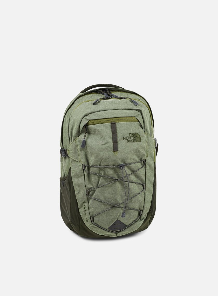 The North Face - Borealis Backpack, Terrarium Green Heather/Rosing Green