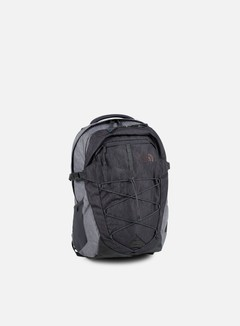 The North Face - Borealis Backpack, TNF Dark Grey Heather/TNF Medium Grey Heather
