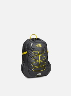 The North Face - Borealis Classic Backpack, Asphalt Grey/Lightning Yellow