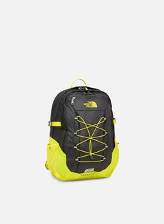 The North Face - Borealis Classic Backpack, Asphalt Grey/TNF Lemon