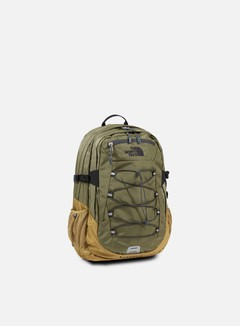 The North Face - Borealis Classic Backpack, Burnt Olive Green/Britsh Khaki 1