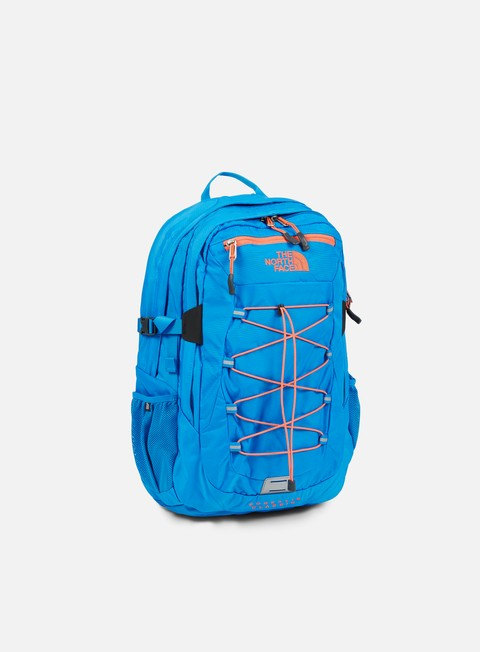 accessori the north face borealis classic backpack clear lake blue redention orange