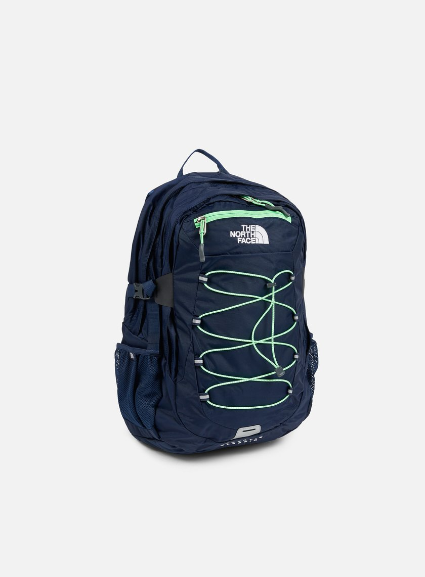 The North Face - Borealis Classic Backpack, Cosmic Blue/Electromagnet Green