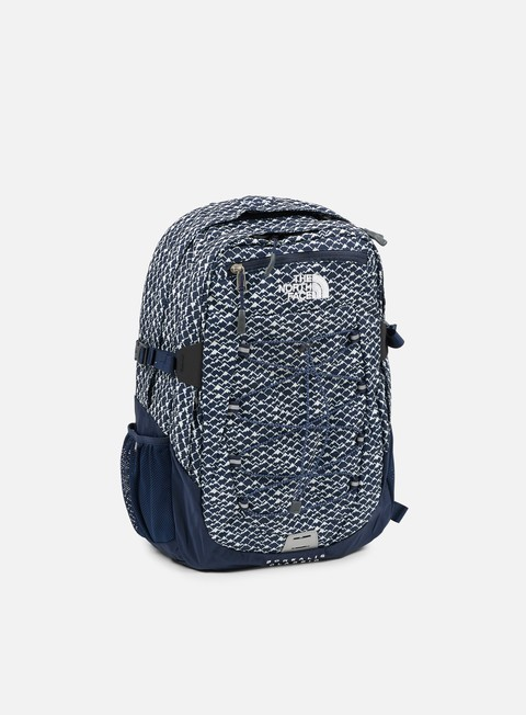 accessori the north face borealis classic backpack cosmic blue mountain print