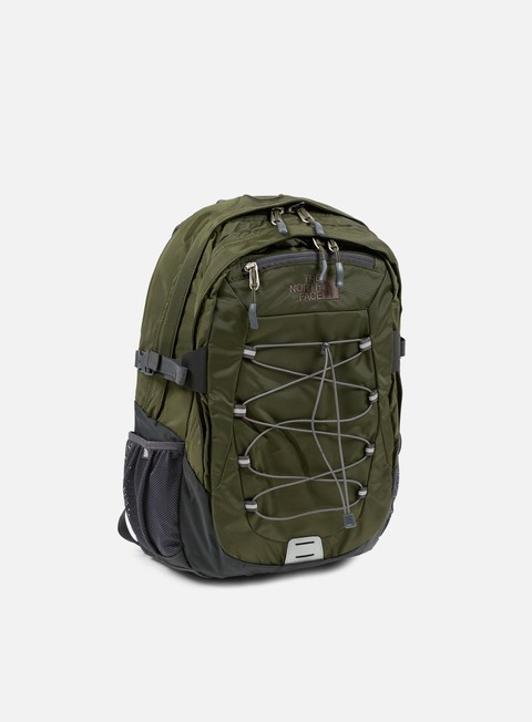 accessori the north face borealis classic backpack forest night green asphalt grey