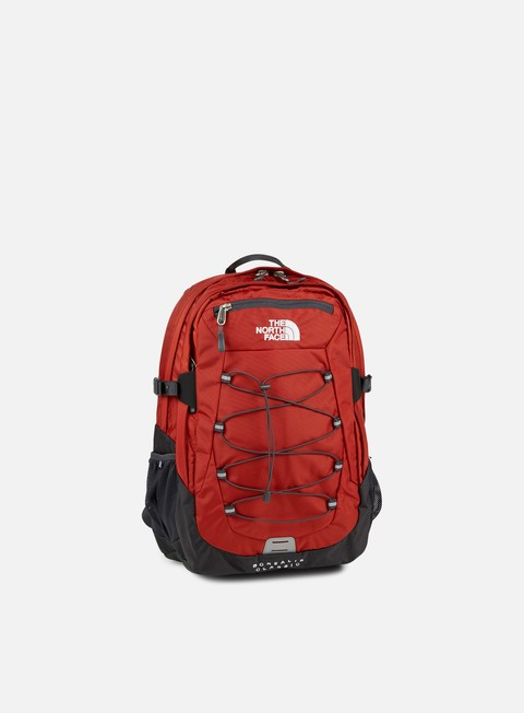 accessori the north face borealis classic backpack ketchup red asphalt grey