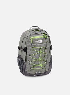 The North Face - Borealis Classic Backpack, London Fog Heather/Chive Green 1