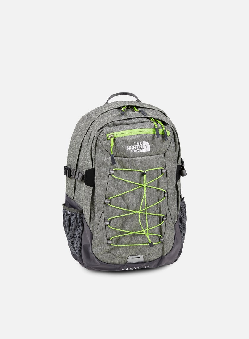 The North Face - Borealis Classic Backpack, London Fog Heather/Chive Green