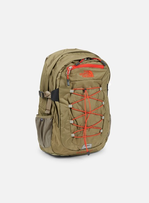 accessori the north face borealis classic backpack mountain moss fiery red