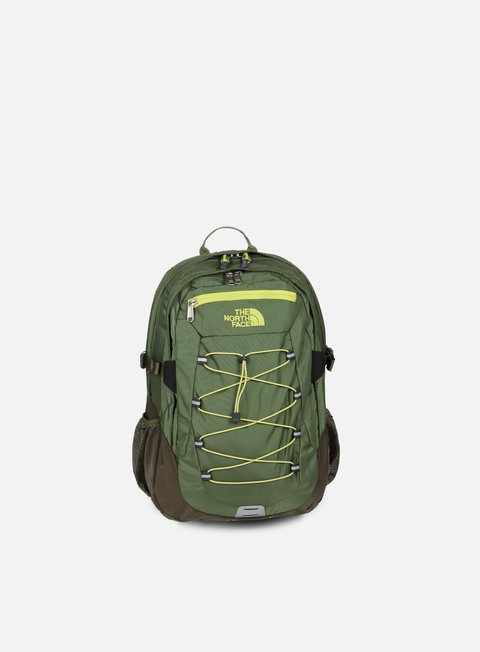 accessori the north face borealis classic backpack new taupe green four leaf clover