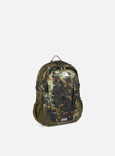 accessori the north face borealis classic backpack new taupe green macrofleck camo print