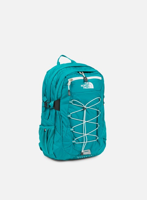 accessori the north face borealis classic backpack teal blue vapor solid grey