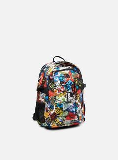 The North Face - Borealis Classic Backpack, TNF Red Sticker Bomb Print/TNF Black
