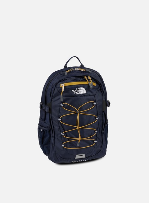 accessori the north face borealis classic backpack urban navy citrine yellow