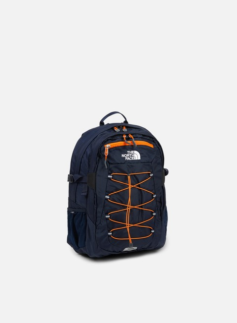 accessori the north face borealis classic backpack urban navy exuberance orange