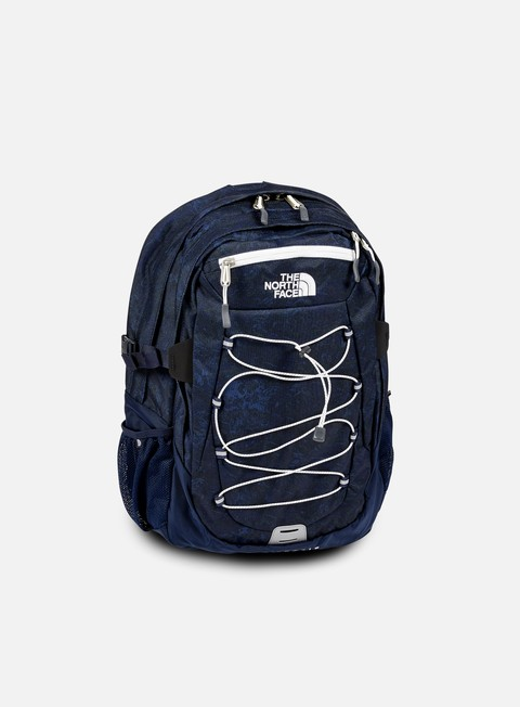 accessori the north face borealis classic backpack urban navy marble print