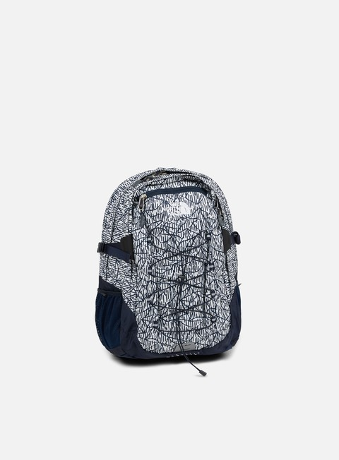 accessori the north face borealis classic backpack vaporous grey rain camo print urban navy