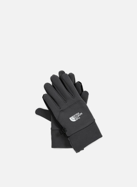 accessori the north face etip glove asphalt grey
