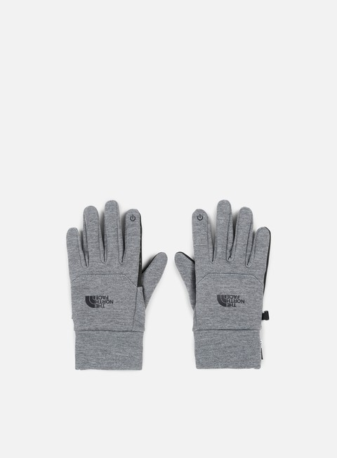 accessori the north face etip glove tnf medium grey heather