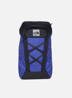 The North Face - Instigator 28 Backpack, Aztec Blue Geo Topo Print/TNF Black