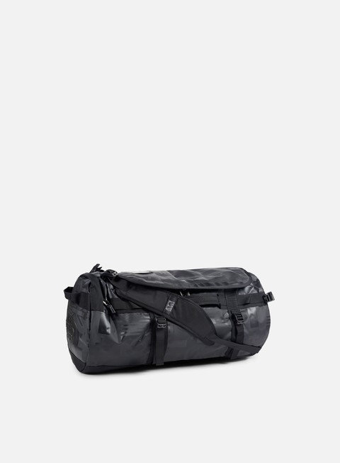 accessori the north face international base camp duffel medium tnf black flag print