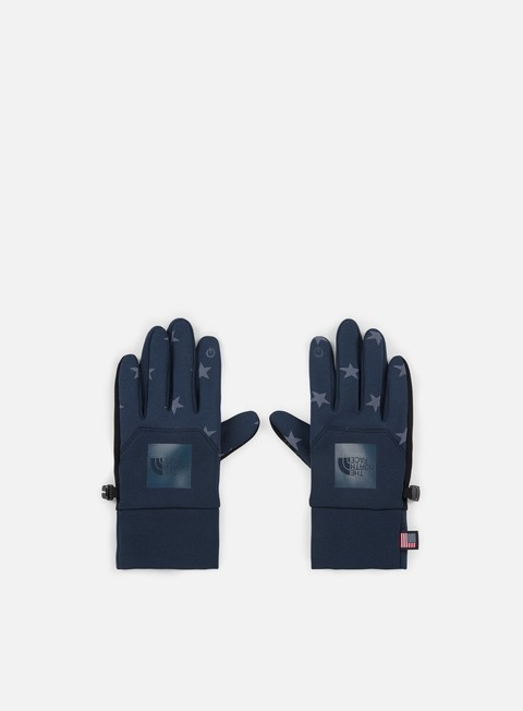 accessori the north face international etip glove cosmic blue