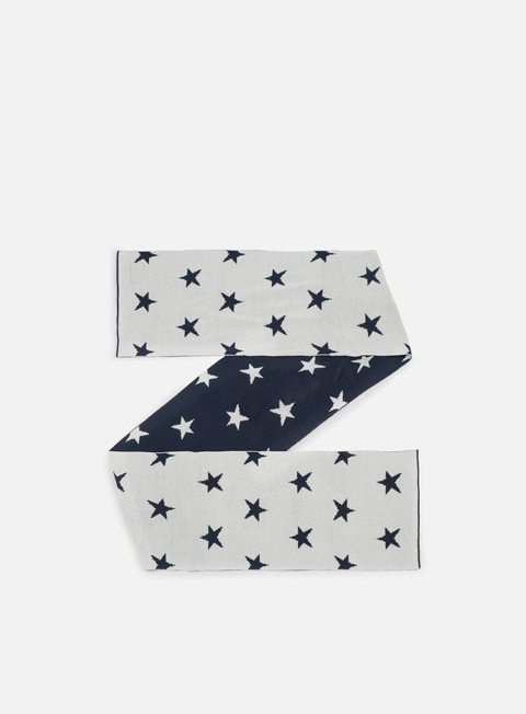 accessori the north face international novelty scarf cosmic blue star print