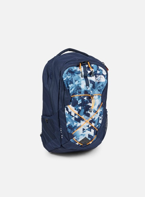accessori the north face jester backpack cosmic blue orange