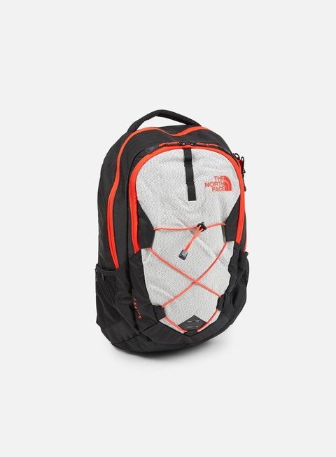 accessori the north face jester backpack tnf black fiery red