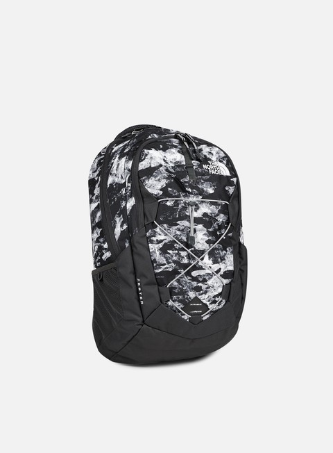 accessori the north face jester backpack tnf white mountain metallic silver