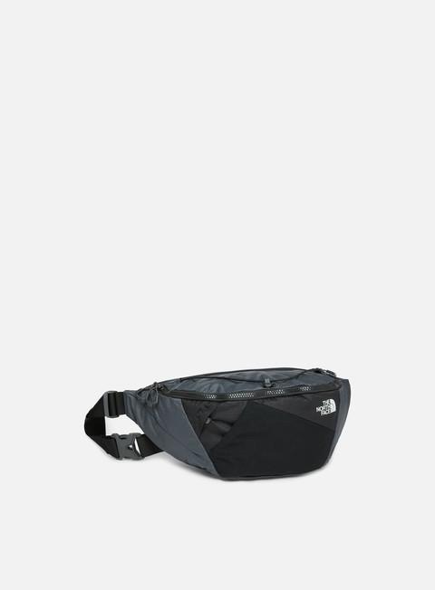 accessori the north face lumbnical waist bag asphalt grey tnf black