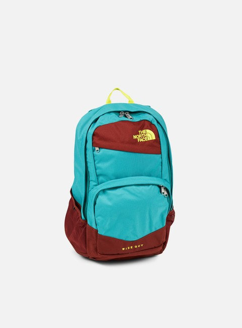accessori the north face wise guy backpack brine green sulphur spring