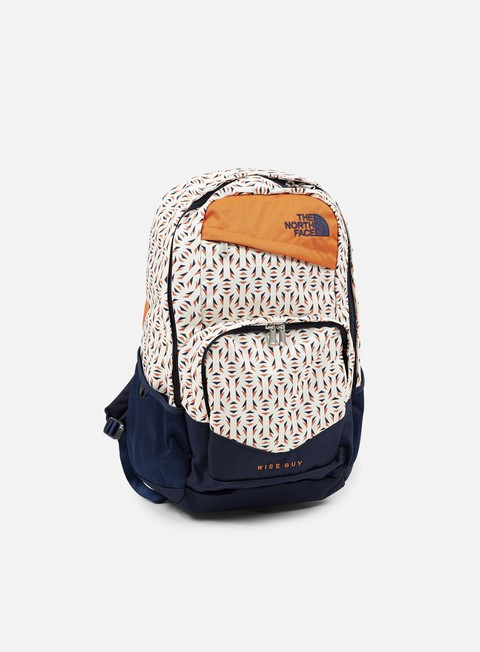 accessori the north face wise guy backpack orange rust triblend