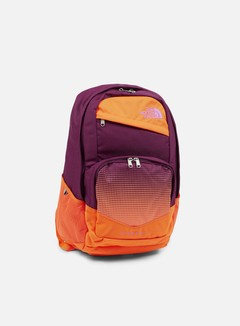 The North Face - Wise Guy Backpack, Pamplona Purple/Vermilion Orange