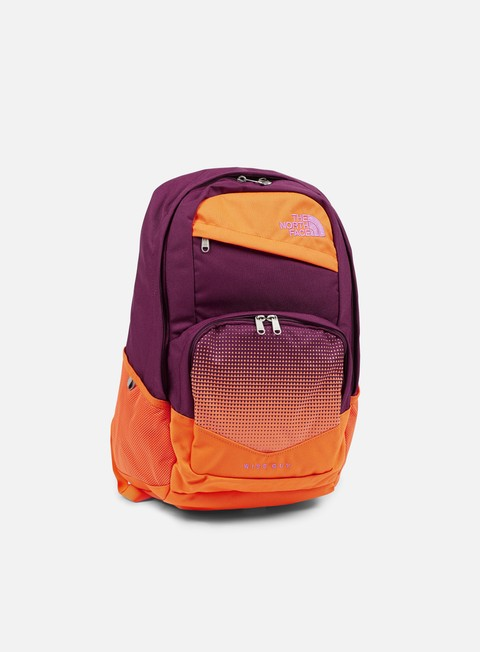 accessori the north face wise guy backpack pamplona purple vermilion orange