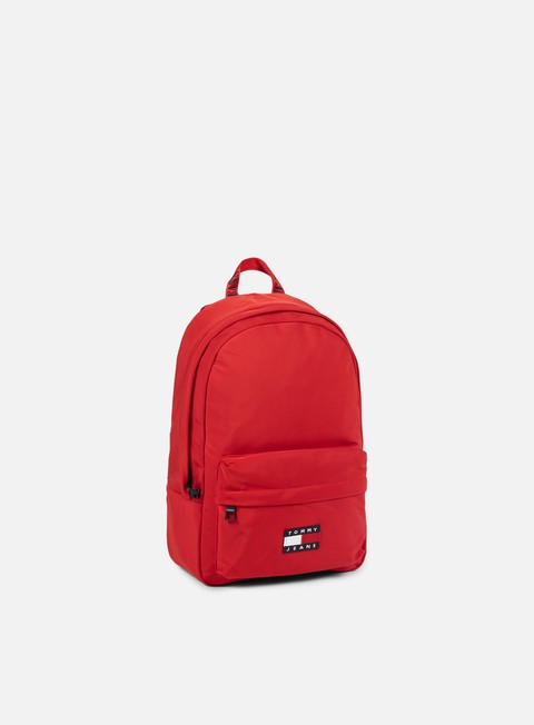 accessori tommy hilfiger tj 90s backpack salsa