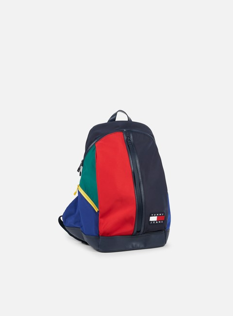 accessori tommy hilfiger tj 90s colorblock backpack color block
