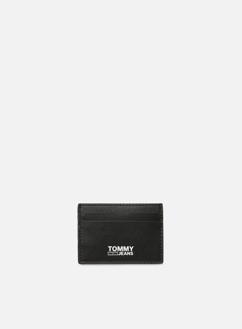 Tommy Hilfiger TJ Essential Recycled Leather Card Holder