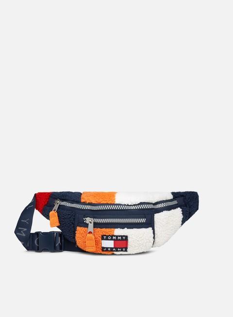 Waist bag Tommy Hilfiger TJ Heritage Colorblock Sherpa Bumbag