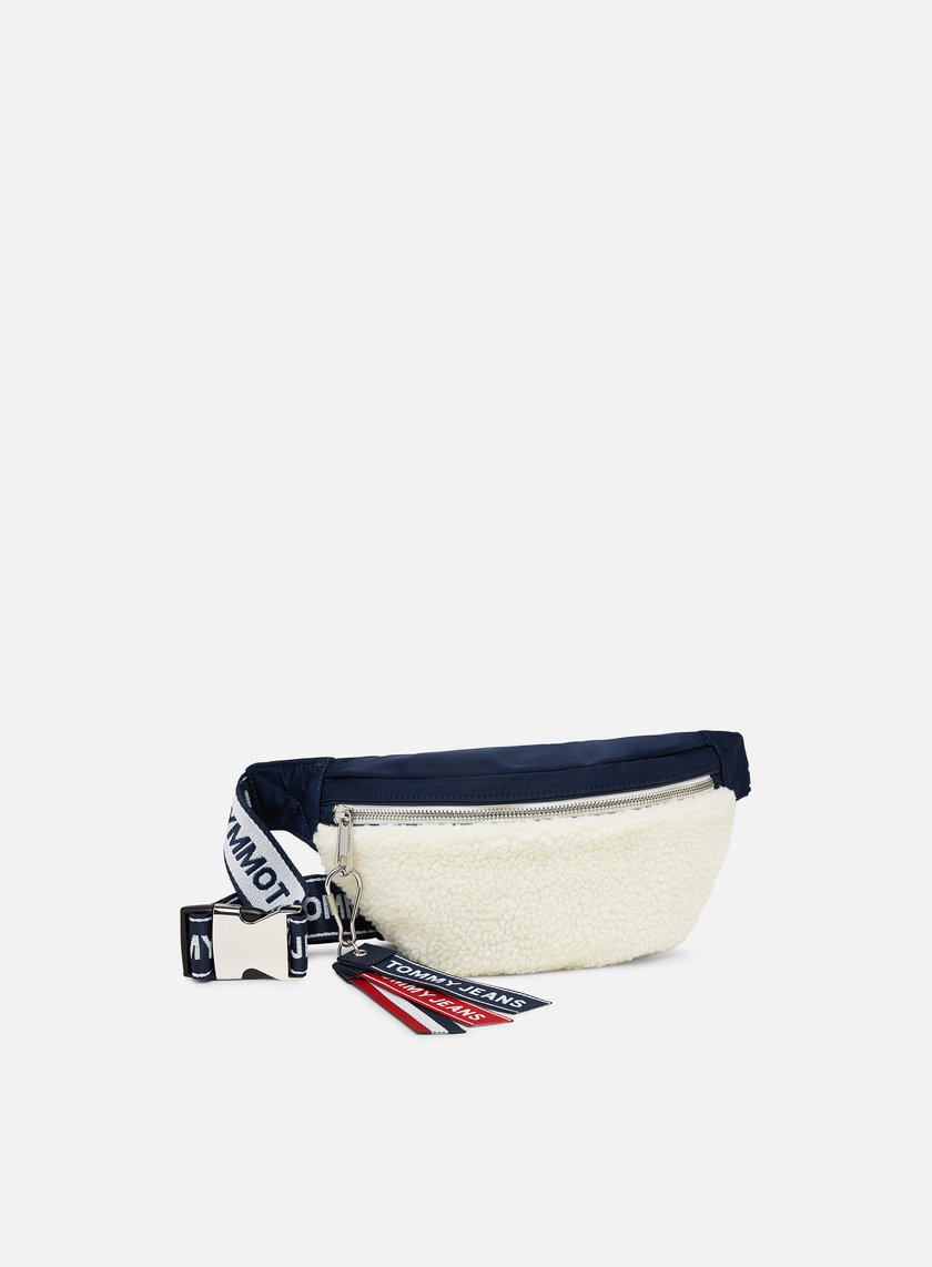 Tommy Hilfiger TJ Logo Tape Fleece Bumbag