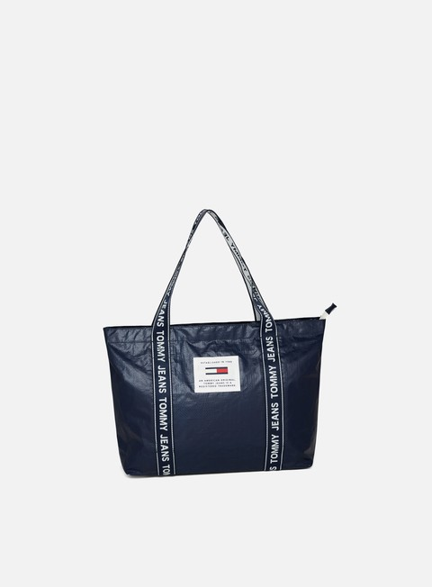 Tommy Hilfiger TJ Logo Tape Tote Bag
