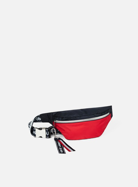 accessori tommy hilfiger tommy jeans logo bum bag corporate