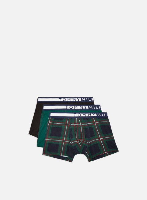 Outlet e Saldi Intimo Tommy Hilfiger Underwear Cotton Print Trunk 3 Pack