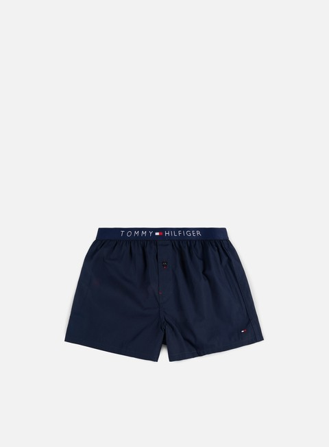 accessori tommy hilfiger underwear icon woven boxer navy blazer