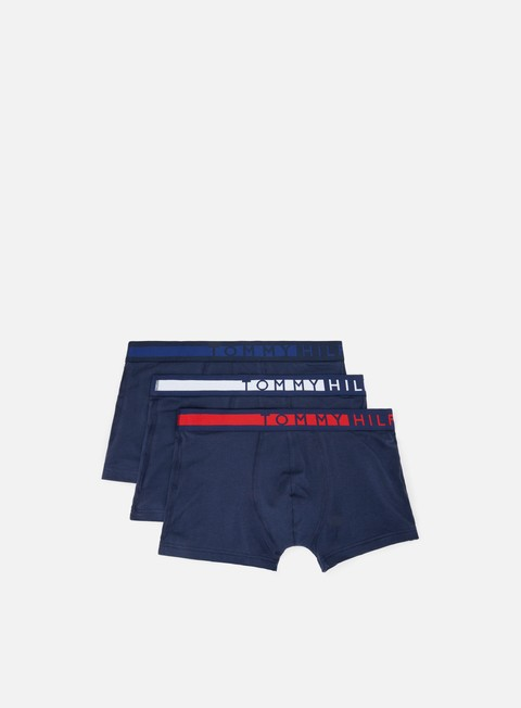 Outlet e Saldi Intimo Tommy Hilfiger Underwear Logo Trunk 3 Pack