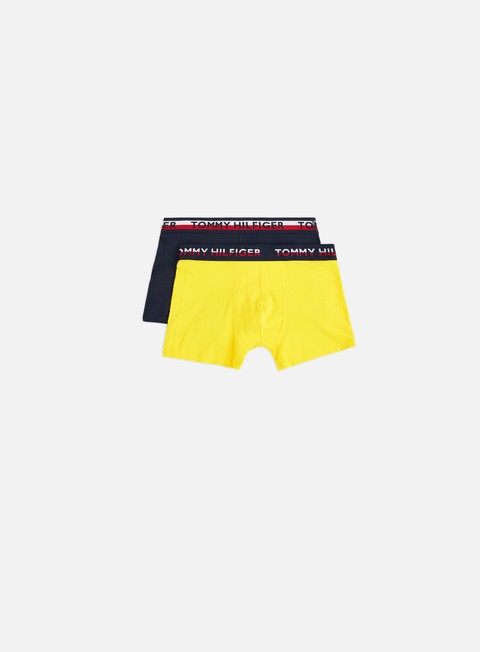 Outlet e Saldi Intimo Tommy Hilfiger Underwear Logo Waist Trunks 2 Pack
