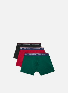 Tommy Hilfiger Underwear - Premium Essentials Trunk 3 Pack, Botanical Garden/Rhubarb