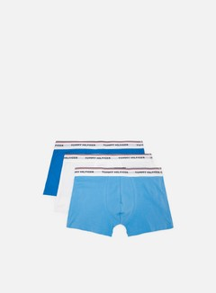 Tommy Hilfiger Underwear - Premium Essentials Trunk 3 Pack, Ethereal Blue/Blue