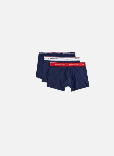 accessori tommy hilfiger underwear premium essentials trunk 3 pack multi wb peacoat