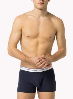 Tommy Hilfiger Underwear - Premium Essentials Trunk 3 Pack, Tango Red/Peacoat/White 2
